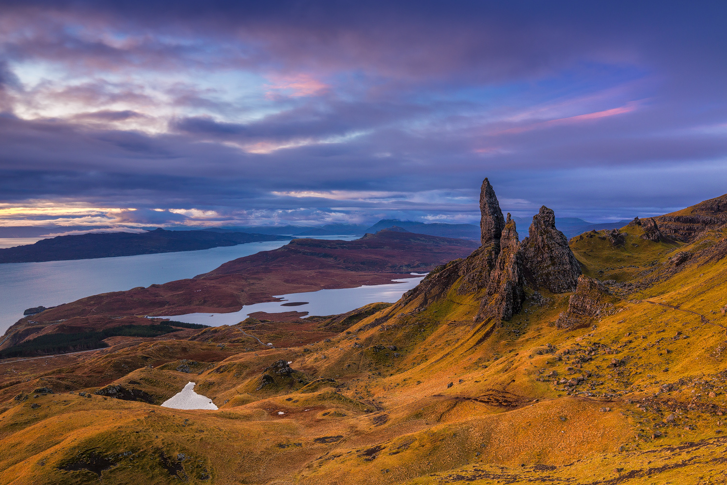 The Old Man of Storr - Isle of Skye - © 2017 Davide Palmieri - all rights reserved