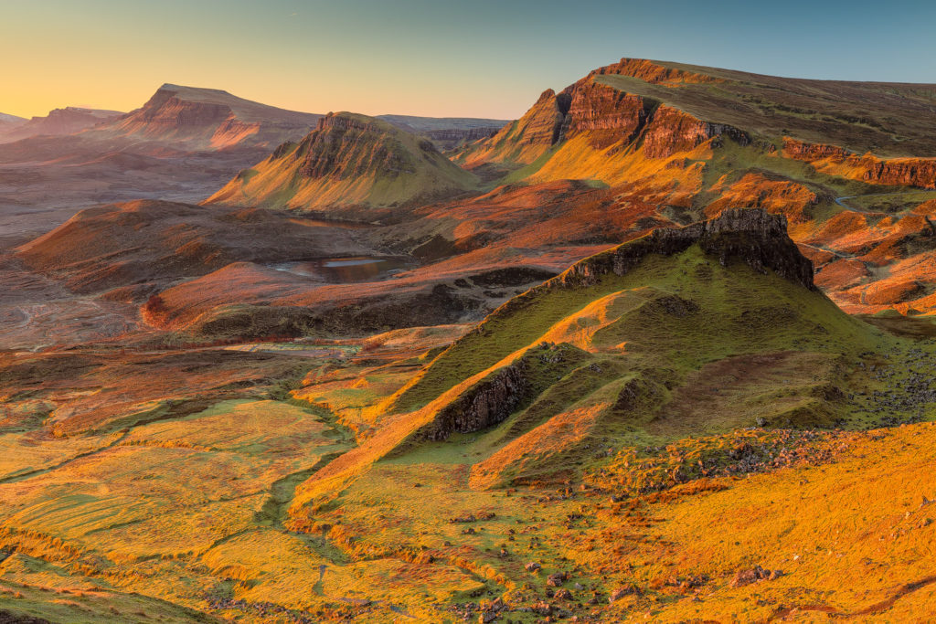 Quiraing - Isle of Skye - © 2017 Davide Palmieri - all rights reserved