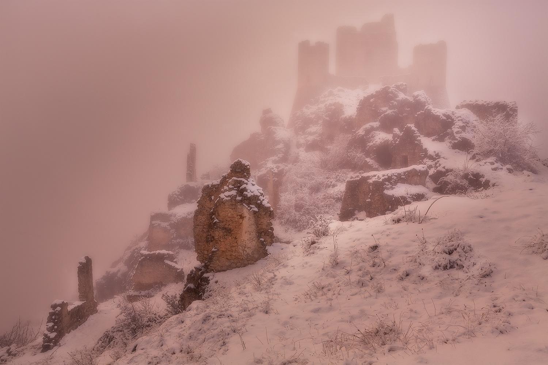 Rocca calascio inverno